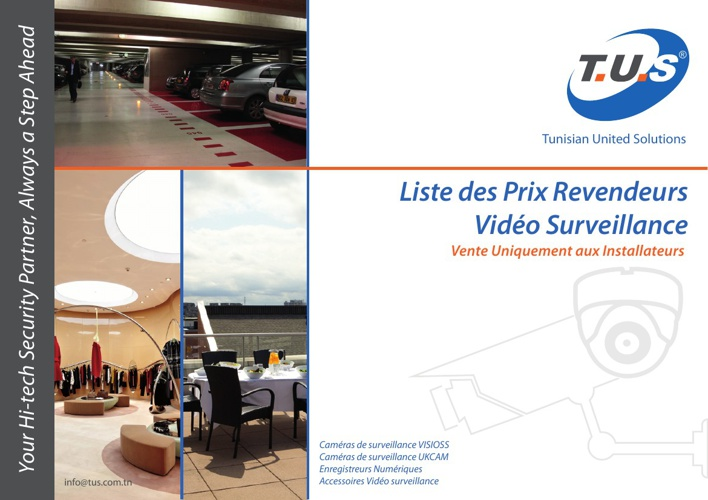 Liste de prix Video surveillance 08-2013 - sans prix