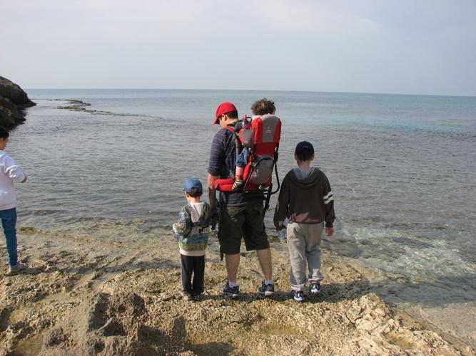 הברונים מטיילים בחוף הבונים