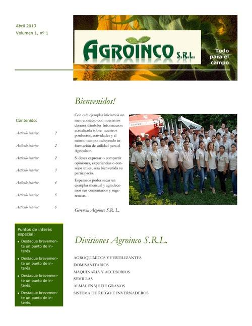 agroinco 1
