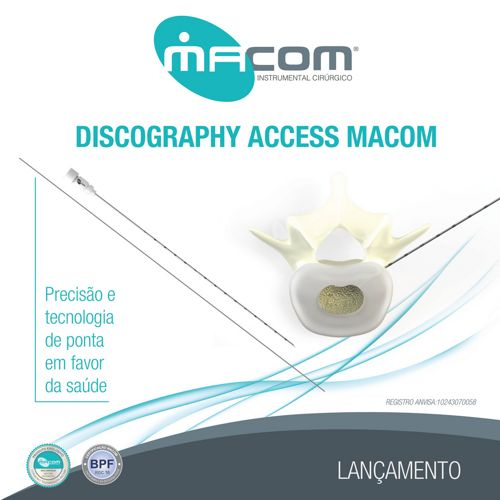 Macom - Discography Access - Acesso Intradiscal