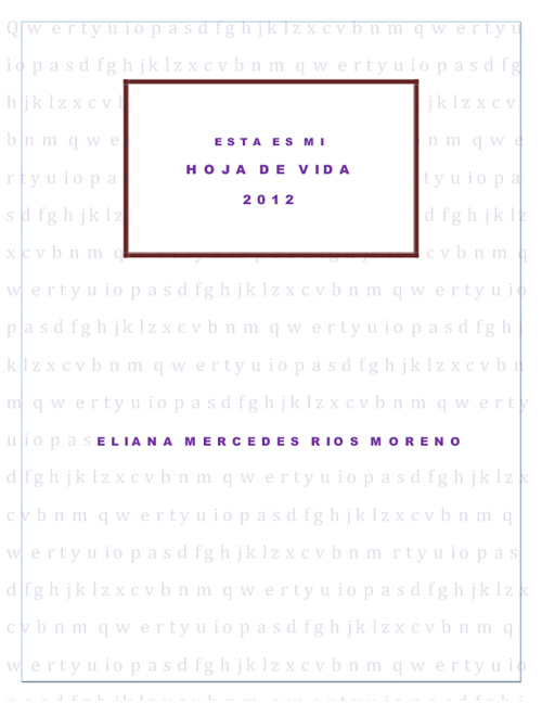 Hoja de Vida Eliana Rios Moreno