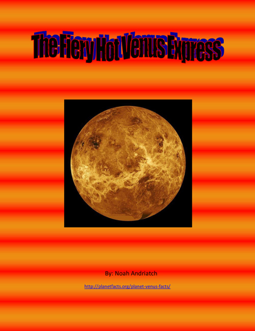The Fiery Hot Venus Express!