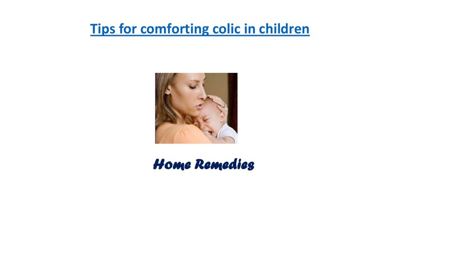 Colic in children