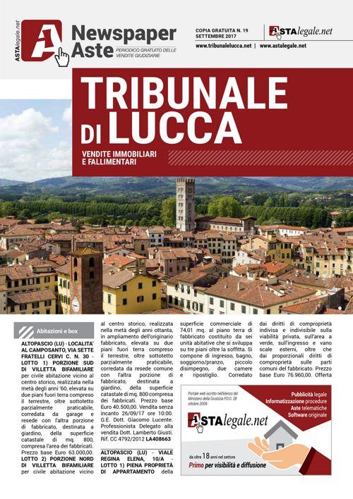 Lucca settembre 2017