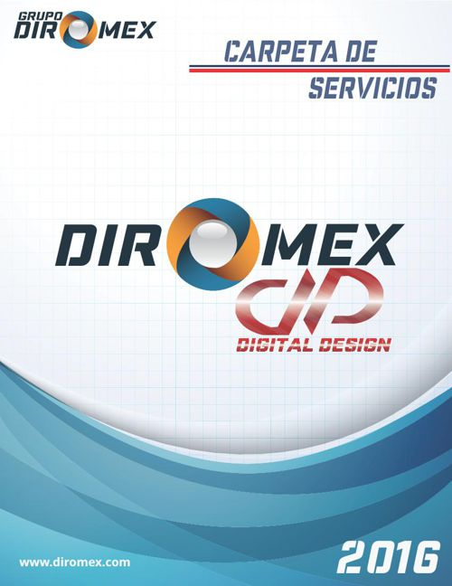 CATALOGO DIROMEX DIGITAL DESIGN 2016