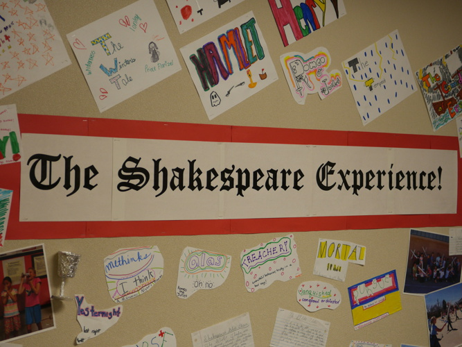 The Shakespeare Experience 2014