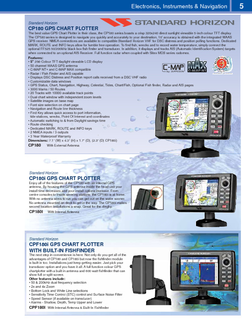 Payne Marine Group 2011 Wholesale Catalogue