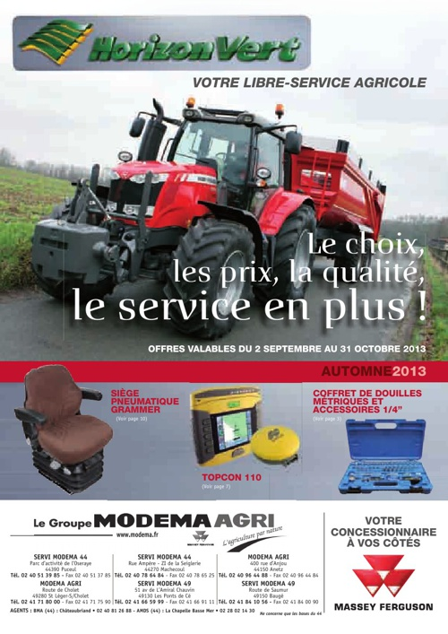 Promotions agricole