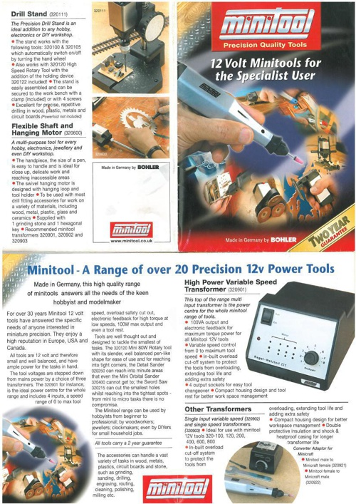 Mini Tool Brochure