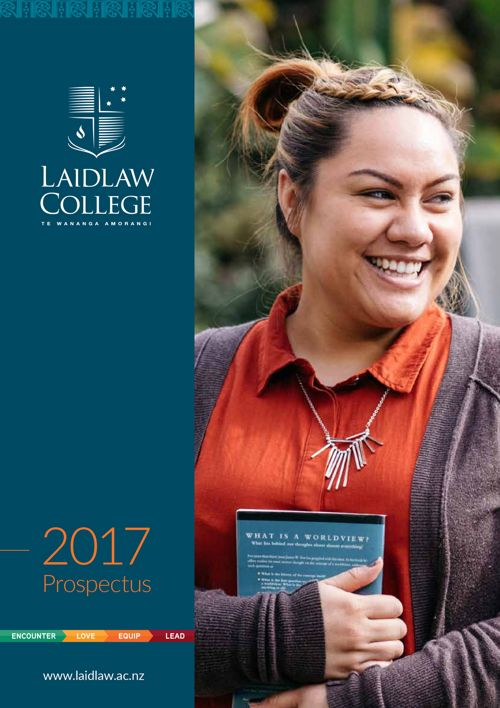 Laidlaw College - Domestic Prospectus 2017