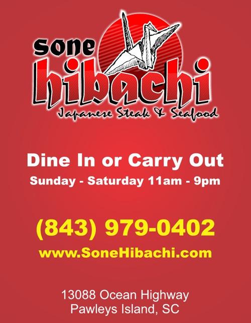 Sone Hibachi Restaurant of Pawleys Island SC