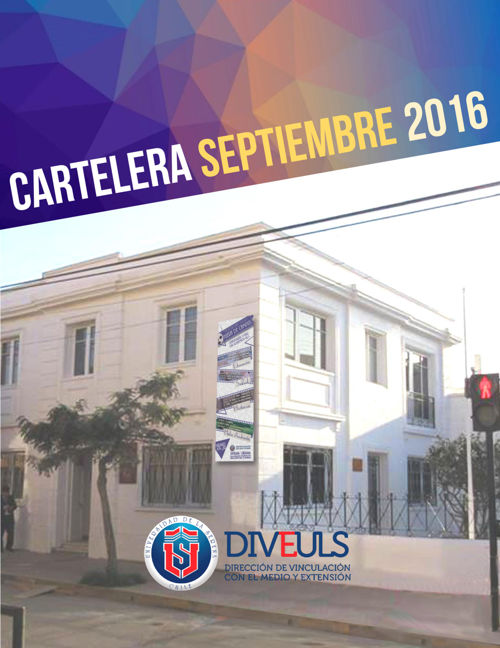 CARTELERA SEPTIEMBRE 2016 | DIVEULS