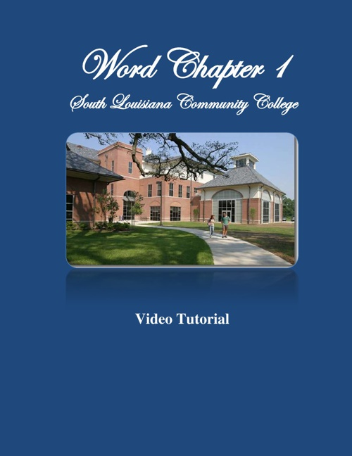 Word Chapter 1