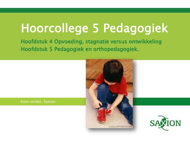 HC 5 Pedagogiek Clau maart 2015 (2)