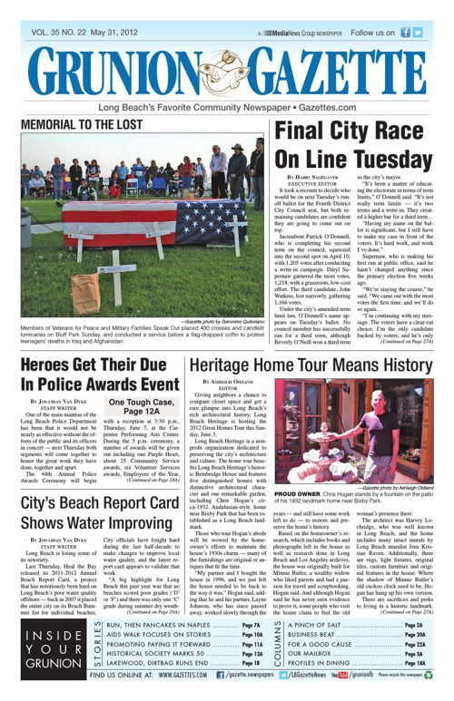 Grunion Gazette | May 31, 2012