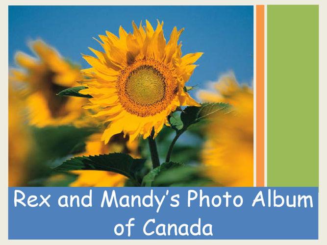 Resource 10 -Rex's Photo Album for Canada