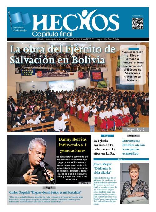 Periodico Hechos Nro. 13