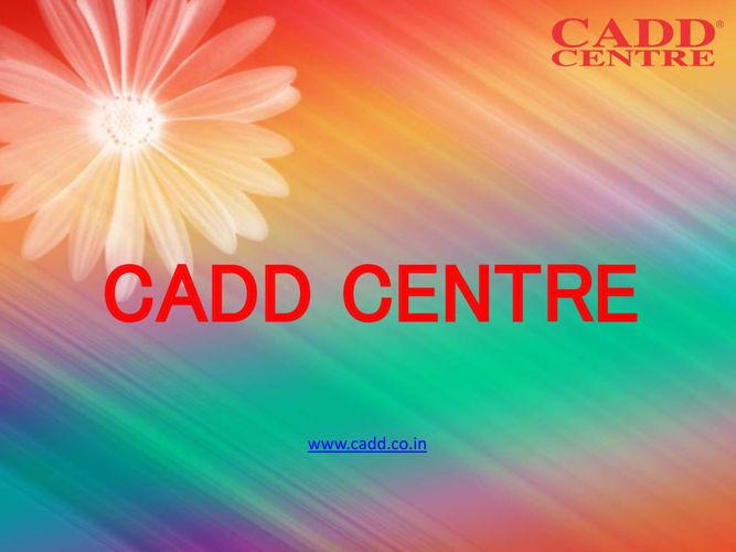 CADD Training Centre in Anna Nagar Chennai,AutoCAD Training