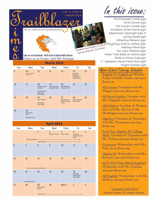 Trailblazer Times 1 6 - March 2014