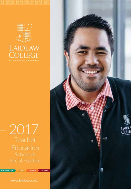 Laidlaw College - Teacher Education Handbook 2017