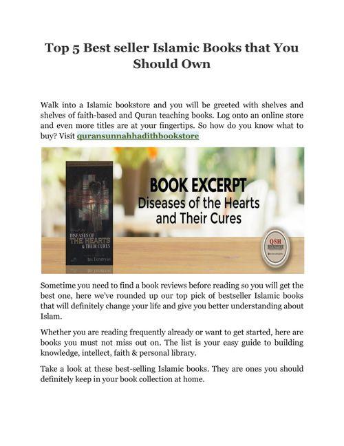 Best seller Islamic Books