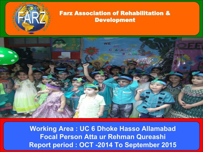 Farz Report Oct 2014 to Sep 2015