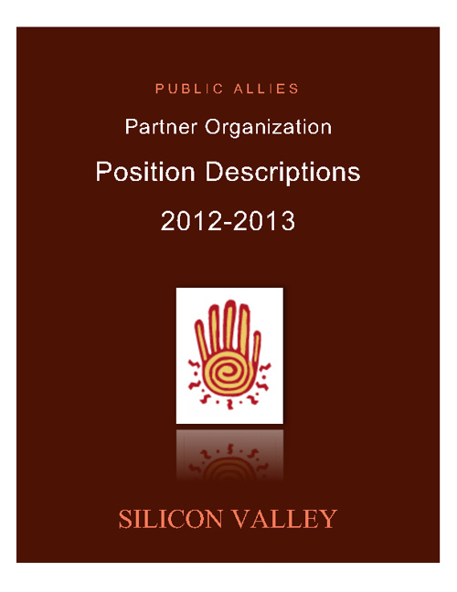 Silicon Valley Ally Positions 2012-2013