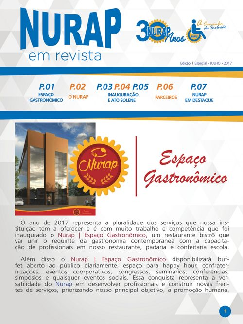 NURAP_Edição Especial Inauguração