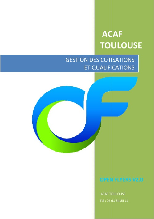 Open Flyers - Gestion des Qualifications
