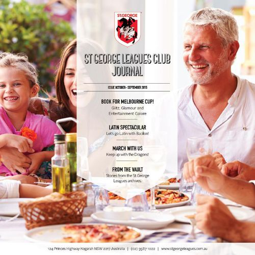 St George Leagues Club Journal Oct - Sept 2015