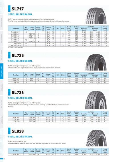Sumitomo Tires LT