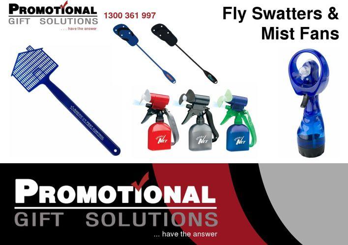Fly Swatters & Mist Fans