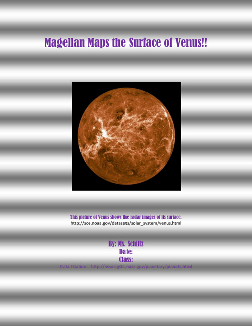 Magellan on Venus