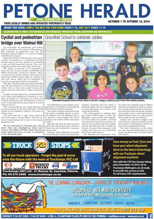 Petone Herald 1 October 2014