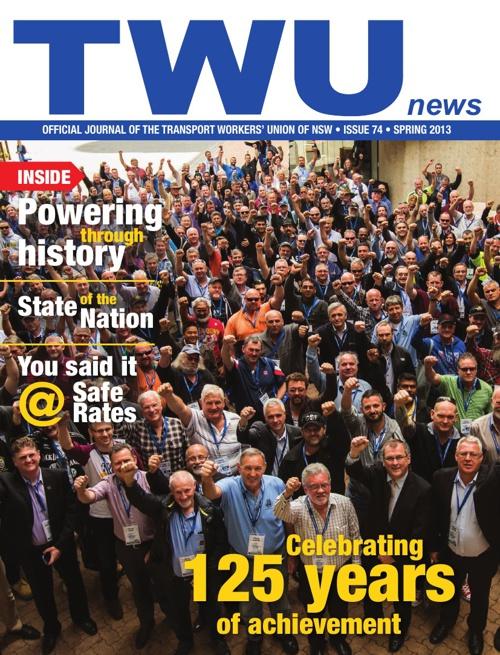 TWU News Spring 2013