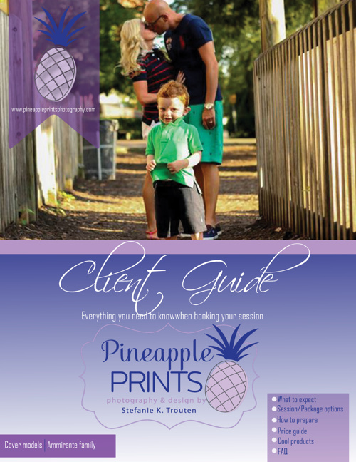 Pineapple Prints: Client Guide