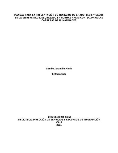MANUAL DE UTILIZACIN NORMAS APA Modficado