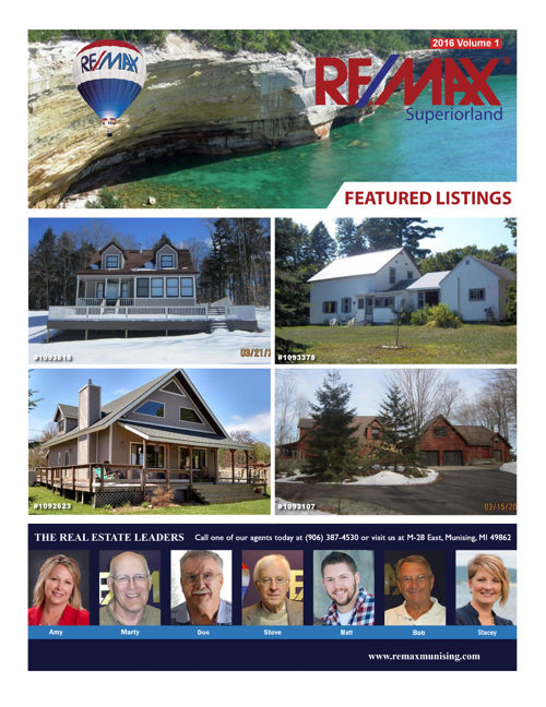 ReMAX Superiorland 2016 Vol 1