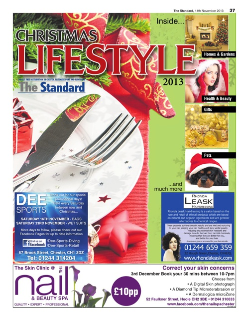 The Standard Christmas Lifestyle supplement