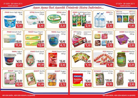 Anafartalar Market Kasım Ayı Fırsatları