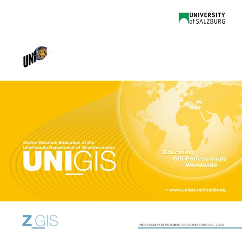 UNIGIS Salzburg International Brochure