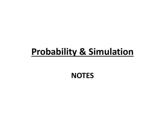 Copy of Probability and Statistics