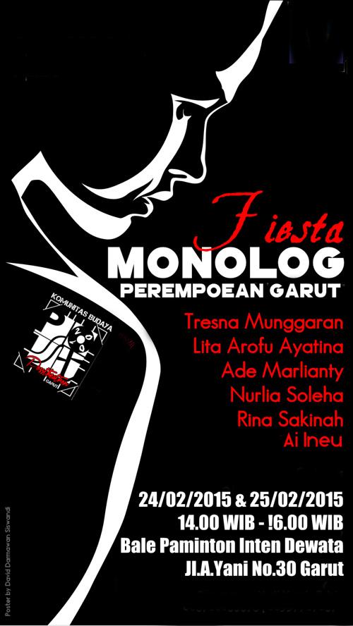 Fiesta Monolog Perempoean Garut