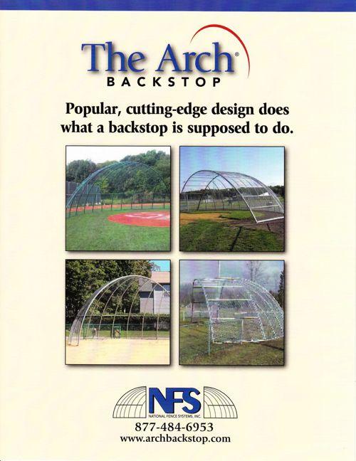 Arch Backstop Brochure