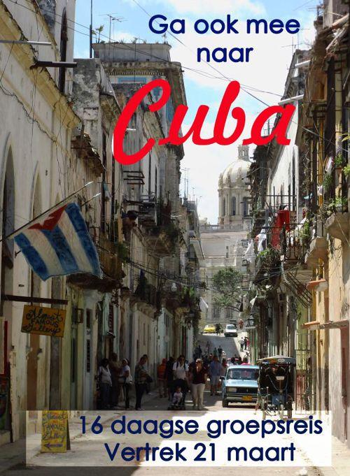 Ga ook mee naar Cuba!