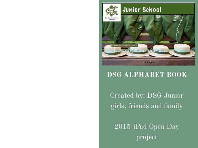 DSG ALPHABET BOOK