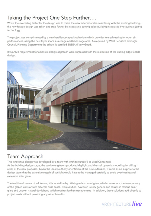StBartholomew's School Enhancement Proje