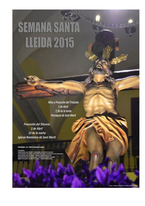 Programa Actos Cuaresma y Semana Santa 2015