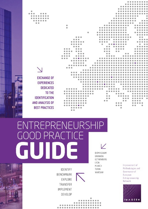 ENTREPRENEURSHIP GOOD PRACTICE GUIDE