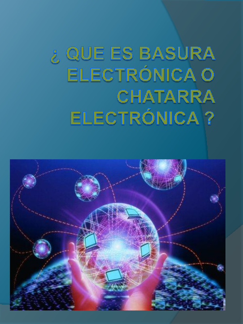 libro virtual  basura electrónica y chatarra electrónica